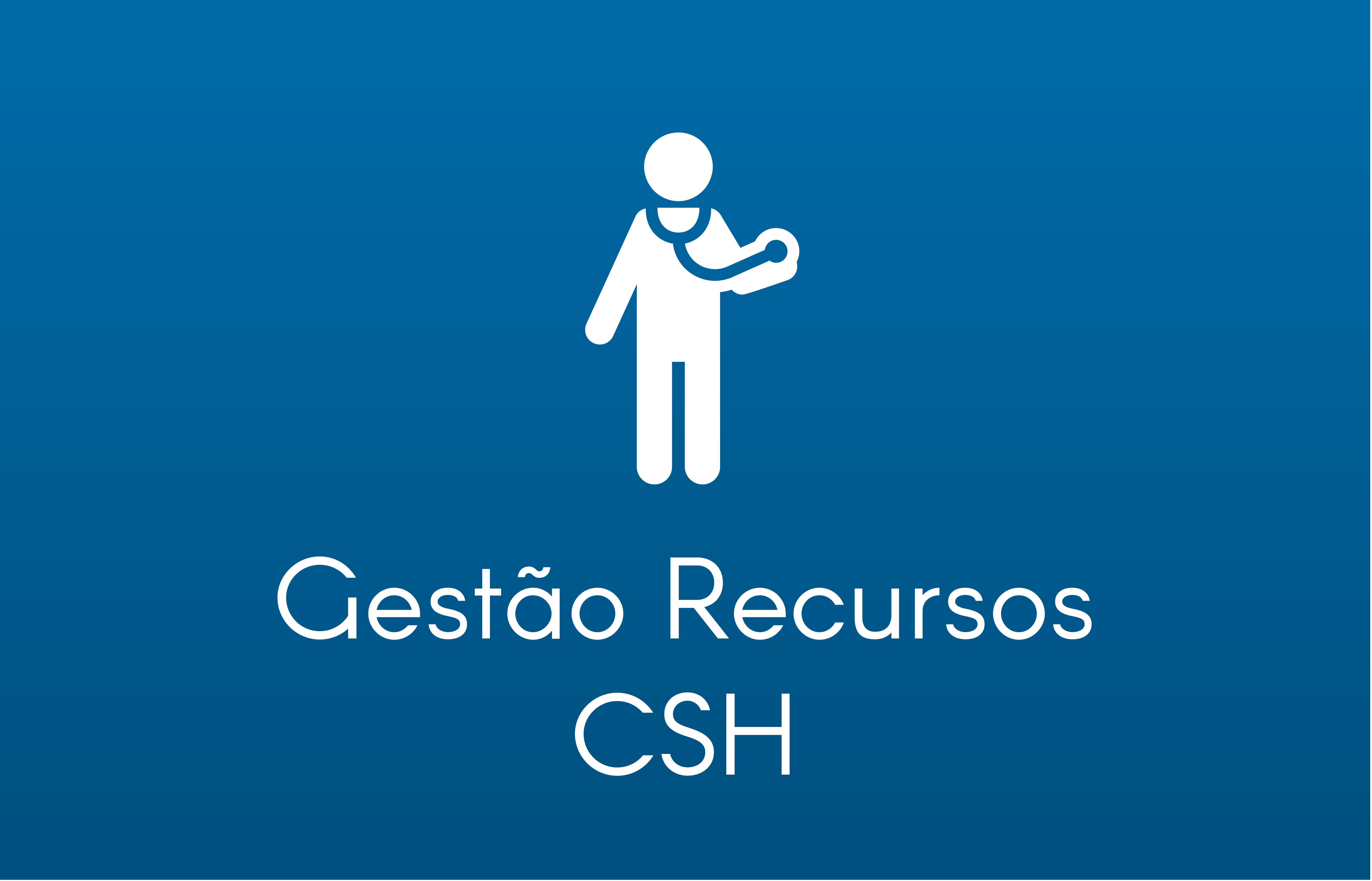 caixa azul gestao recursos csh medico