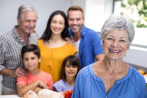 avos filhos e netos