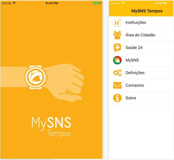 print app my sns tempos